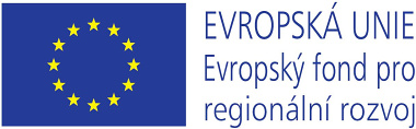 Logo - EU - Evropský fond pro regionální rozvoj